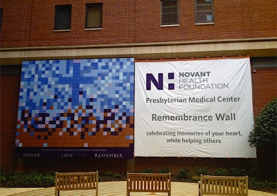 Novant Health Remembrance Banner