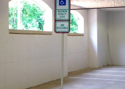 Reserved Parking - Deck